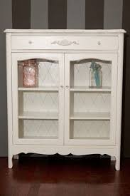 Small China Cabinet Hutch by Would Have Been Even Better Without The White Paint Why Would