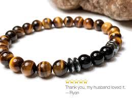 bead bracelet styles images Mens tiger eye bracelet 4 styles onyx bracelet hematite etsy jpg