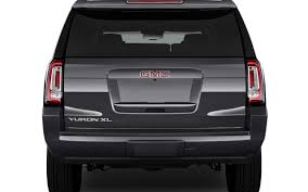 gmc yukon trunk space comparison gmc yukon xl denali 2017 vs infiniti qx80 limited
