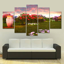 Wall Paintings For Living Room Online Get Cheap Garden Wall Painting Aliexpress Com Alibaba Group