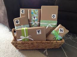 cotton gift ideas wedding gift simple cotton wedding anniversary gift ideas from
