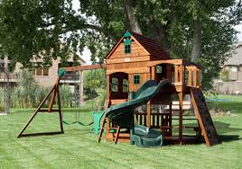 Diy Backyard Playground Ideas Wooden Outdoor Playset Plans Design Idea And Decorations