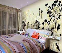 bedroom wall decor for teen bedroom light brown oak wood bed