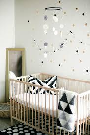 déco originale chambre bébé idées de décoration chambre bébé fille en noir et blanc