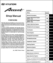 2013 hyundai accent manual 2001 hyundai accent repair shop manual original