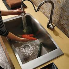 creative of undermount stainless steel sinks 16 gauge kitchen sink single bowl stainless steel best kitchen ideas 2017
