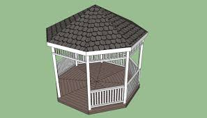picnic shelter plans howtospecialist how to build step by