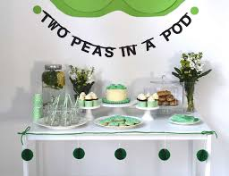two peas in a pod baby shower decorations peas in a pod baby shower two peas in a pod a baby