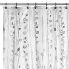 Shower Curtains Bed Bath And Beyond Buy Metallic Silver Shower Curtains From Bed Bath U0026 Beyond