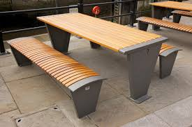Diy Small Round Wood Park Picnic Table With Detached Octagon Bench by Best And Popular Picnic Table Bench