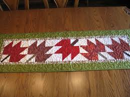Fall Table Runners by Mountain Quiltworks July Finishes