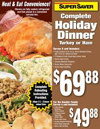complete turkey dinner complete dinner saver