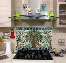 tile murals for kitchen backsplash kitchen marble tile murals pacifica studio mural kitchen