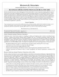 Healthcare Executive Resume Examples by Winsome Management Executive Resume Sales And Operations Resume