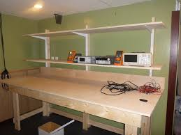 Home Decorators Bench by Diy Lab Bench With Shelves Pt1 The Bench Youtube