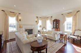 Living Room Drapes And Curtains Family Room Traditional With - Family room drapes
