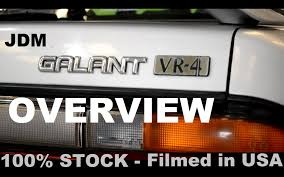 mitsubishi galant jdm jdm mitsubishi galant vr 4 overview currently for sale in usa