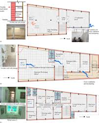 a basement floor plan b ground floor plan c first floor