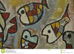 detail of abstract artwork painted on mural or graffiti stock abstract
