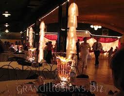 Wedding Reception Centerpieces Wedding Grand Illusions