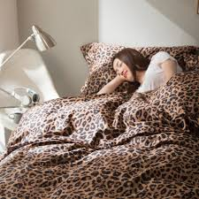 Cheetah Print Blanket Online Buy Wholesale Leopard Print Comforter Set From China