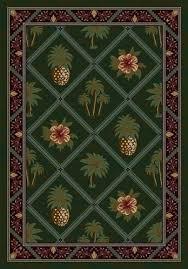 Pineapple Area Rug Milliken Signature Palm And Pineapple Area Rug Reviews Wayfair