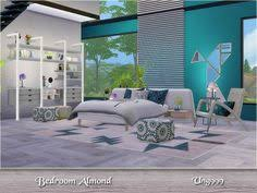 Modern Bedrooms Sets by Concinnus Bedroom At Simcredible Designs 4 Via Sims 4 Updates