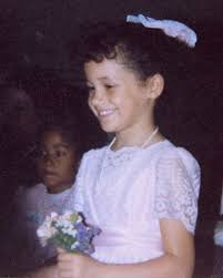 young little girls src see young meghan markle as a flower girl at aunt s wedding people com