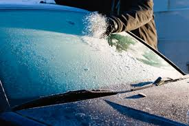 how to de ice a car windscreen when there u0027s frost outside tips