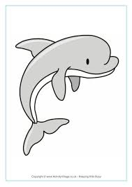 dolphin printables
