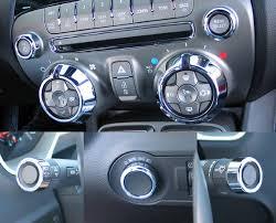 accessories for 2010 camaro chevy camaro accessories 7pc chrome billet dash knob kit 2010