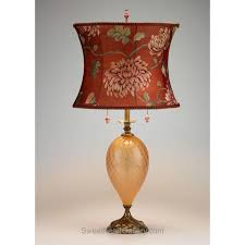 artistic blown glass table lamps artisan crafted lighting