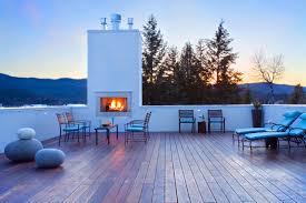 rooftop deck design exterior design rooftop deck with outdoor fireplace and outdoor