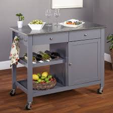 stainless steel kitchen island cart incredible new steel kitchen island photos topwetlandsitescom for