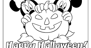 minnie mouse halloween coloring pages u2013 halloween wizard