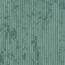 teal corduroy striped soft velvet upholstery fabric by the yard