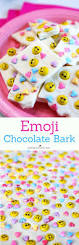 chocolate emoji emoji chocolate bark simple valentine u0027s day treat