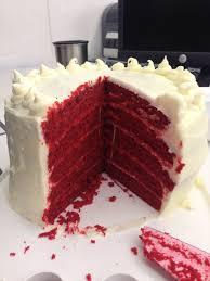 five layer red velvet cake chelsweets