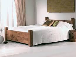 All Wood Bed Frame Solid Wood Bed Furniture Designs Home Interior Design