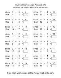 addition subtraction worksheets u2013 wallpapercraft