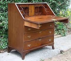 antique drop front desk secretary bureau google zoeken bureau pinterest bureaus