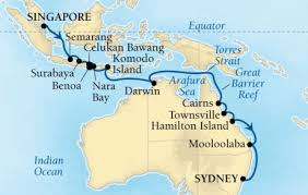 cruises to sydney australia seabourn cruises encore itinerary november 10 december 4 2017