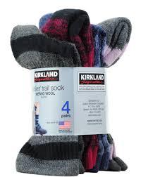Kirkland Patio Heater Parts by Kirkland Ladies U0027 Trail Socks Pack Of 4 Merino Wool Shoe Size 4 10