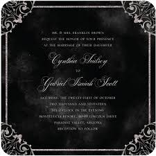 and black wedding invitations and debonair invitations for weddings