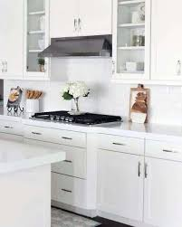what hardware for white kitchen cabinets 15 white kitchen cabinet hardware ideas with images
