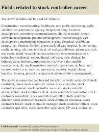 Warehouse Job Titles Resume by Stock Resume Resume Cv Cover Letter