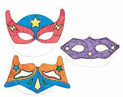12 colour in superhero masks for kids arts u0026 crafts