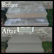 front stairs needed to be redone valspar cement porch paint