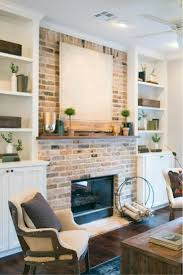 living room chic brick fireplace decorating ideas models jewcafes