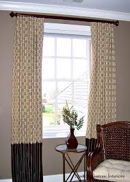 why choose custom window treatments 5 reasons to choose custom window treatments newton custom interiors
